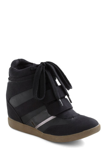 Hip Hopscotch Wedge - Black, Urban, Wedge, Mid, Grey