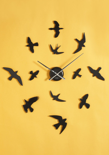 Grace Against Time Wall Clock