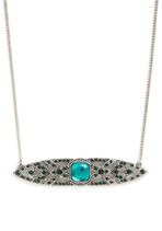 Emerald Epiphany Necklace