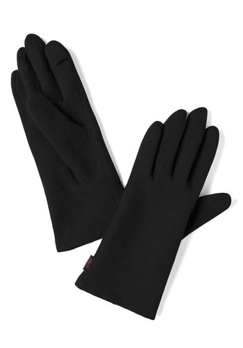 Looking Upgrade Gloves in Black - Black, Solid, Minimal, Winter, Holiday Party