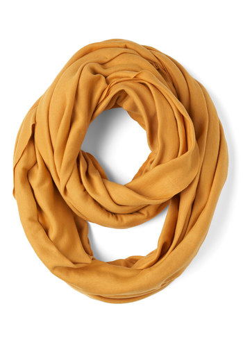 Start with the Basics Scarf in Mustard - Yellow, Solid, Cotton, Winter, Tis the Season Sale