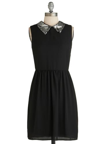 Silver Screen Chic Dress