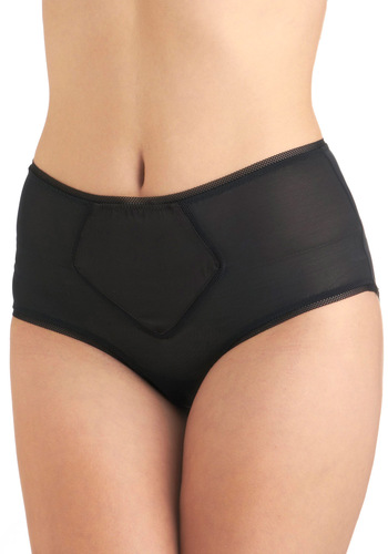 Along the Loire Undies - Black, Solid, Sheer, Vintage Inspired, International Designer