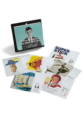 Mid-Century Modern Marketing Calendar - Multi, Mid-Century, Work, Vintage Inspired, Dorm Decor