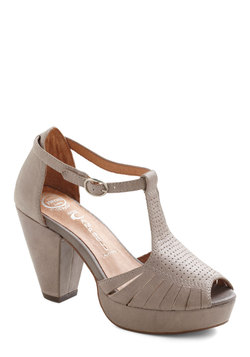 All In One Mauve Heel