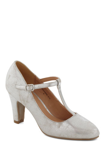 Everythings Aglow Heel in Silver