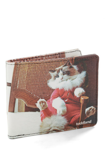 Mew-nion Suit Wallet - Multi, Print with Animals