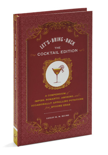 Let's Bring Back Cocktail Edition by Chronicle Books - Multi, Vintage Inspired, Party, 20s, Good