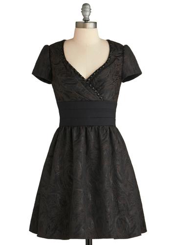 Don't Rain on My Brocade Dress