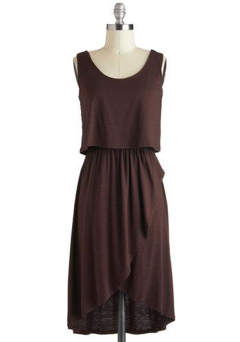 Dark Chocolate Bar Dress