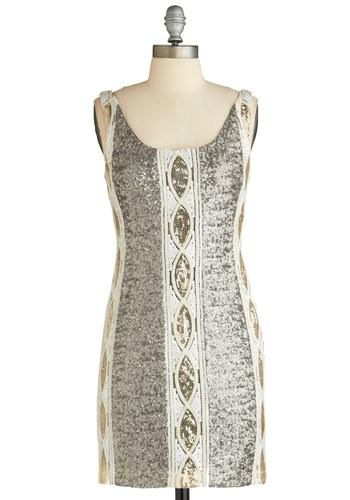 Glistening Party Dress
