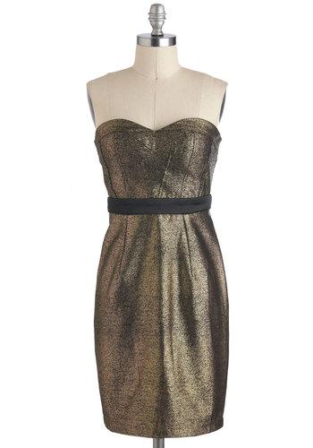 Gilded Glamour Dress