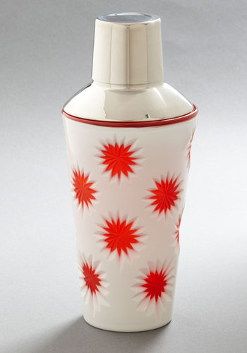 Mix and Matchmaker Cocktail Shaker - Orange, Mod, Mid-Century, Tis the Season Sale
