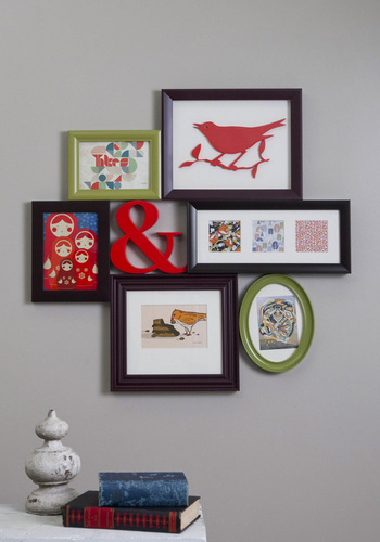 Place to Collage Your Own Picture Frame - Multi, Dorm Decor, Vintage Inspired, Graduation