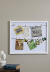 Frame of Preference Shadow Box - White, Solid, Vintage Inspired, Dorm Decor, Handmade & DIY, Graduation, Better