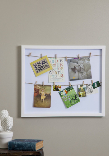 Frame of Preference Shadow Box - White, Solid, Vintage Inspired, Dorm Decor, Handmade & DIY, Graduation, Top Rated