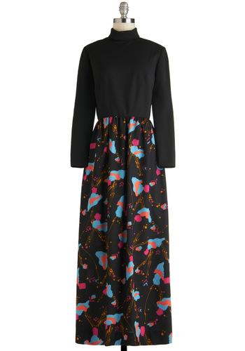 Vintage Dappling with Design Dress