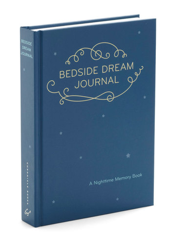Bedside Dream Journal by Chronicle Books - Blue, White, Dorm Decor, Quirky, Good
