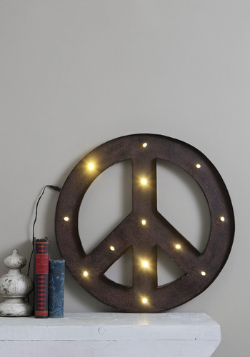 De-light of Peace - Multi, Vintage Inspired, Dorm Decor, Urban, Tis the Season Sale, Graduation