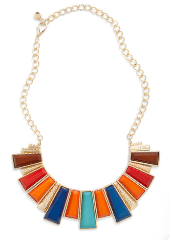 Solstice Searching Necklace - Multi, Solid, Statement