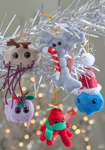 Doc the Halls Ornament Set - Multi, Quirky, Holiday