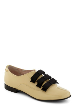 Rachel Antonoff for Bass Lemon Chiffon My Way Flat