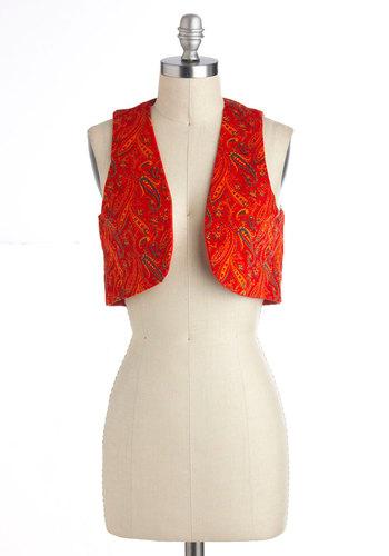 Vintage Paisley a Visit Vest