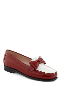 Rachel Antonoff for Bass Red, White, and Bow Flat