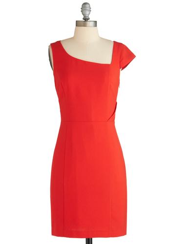 Angular Intrigue Dress