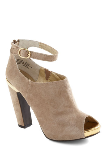 Nothin' But Trouble Heel by Seychelles - Leather, Long, Tan, Cream, Buckles, Party, Girls Night Out, Luxe, Urban, High