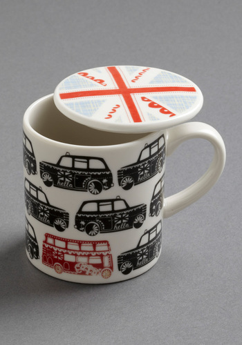 Roundabout Time Mug by Disaster Designs - Multi, 60s, Work, Tis the Season Sale