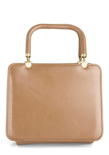 Vintage Cocoa-Owner Handbag