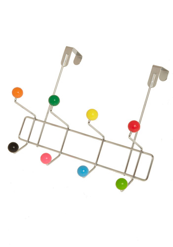 Candy Girl Door Hooks by Present Time - Multi, Dorm Decor, Mod