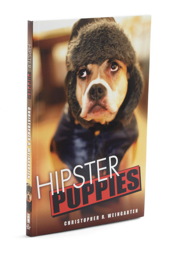 Hipster Puppies by Penguin Books - Multi, Print with Animals, Dorm Decor, Quirky