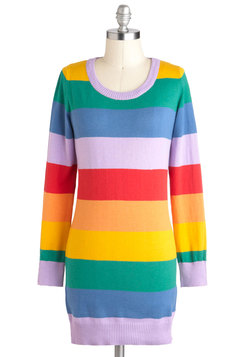 Rainbow Affection Sweater