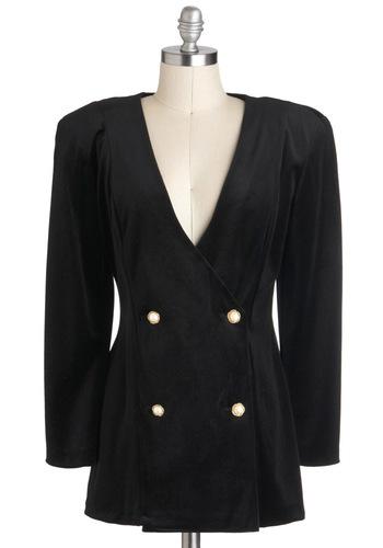 Vintage Glitz Official Blazer