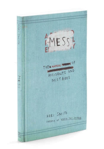 Mess - The Manual of Accidents and Mistakes by Penguin Books - Multi, Dorm Decor, Quirky