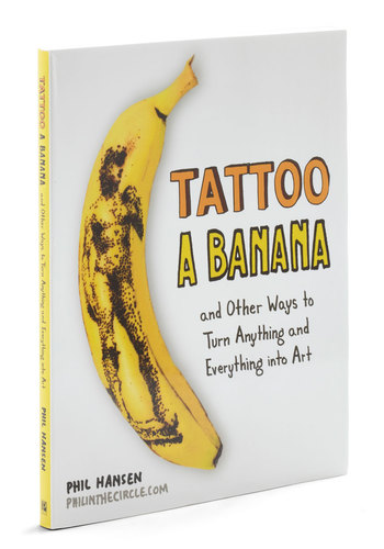 Tattoo a Banana by Penguin Books - Multi, Dorm Decor, Handmade & DIY, Quirky