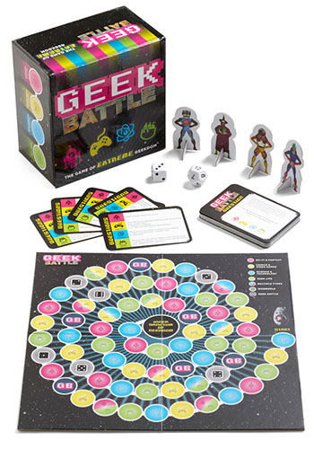 Geek Battle by Chronicle Books - Multi, Quirky, Good, Sci-fi, Under $20, Top Rated