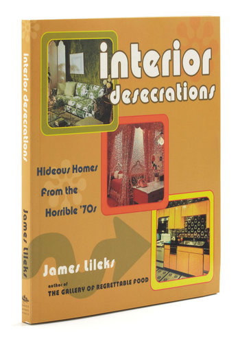 Interior Desecrations - Multi, Vintage Inspired, 70s, Dorm Decor, Quirky