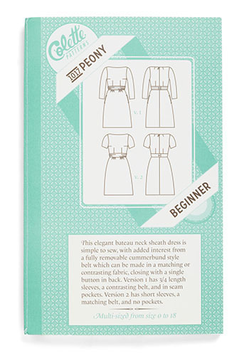 Seize the Dress Sewing Pattern in Peony - Green, Vintage Inspired, Handmade & DIY