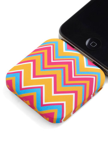 You're in Charge iPhone Battery Pack - Multi, Print, Travel, Graduation, Chevron