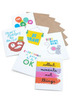 Nice Advice Notecard Set - Multi, Novelty Print