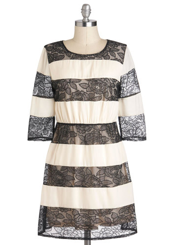 Lace Note Dress