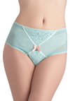 Wandering Thoughts Undies - Green, Multi, Solid, Bows, Lace, Trim, Mint, Sheer