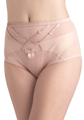 Cherry Blossom Beauty Briefs - Pink, Solid, Bows, Sheer