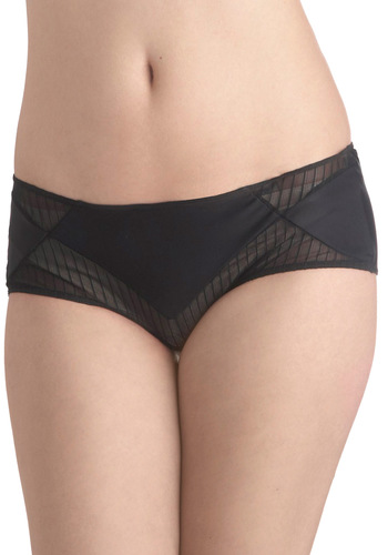 Boudoir Dreaming Undies - Black, Solid