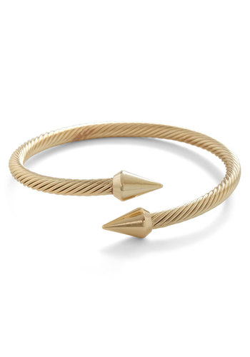 Spike a Pose Bracelet - Gold, Solid