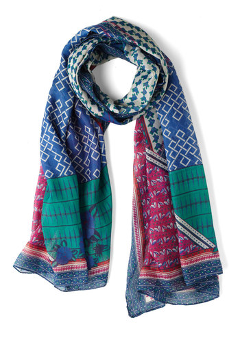 Hint of Mix-tery Scarf - Print, Multi