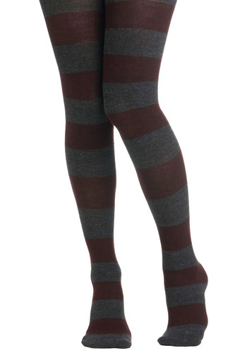 Auburn Brigade Tights - Stripes, Winter, Fall